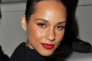 Alicia Keys Wears Ruby Red Lipstick at Valentino Fashion Show