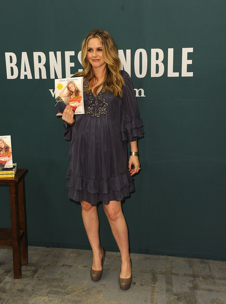 More Pics of Alicia Silverstone Long Curls (1 of 13) - Alicia Silverstone Lookbook - StyleBistro
