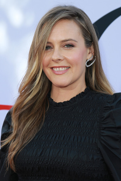 Alicia Silverstone Long Wavy Cut [paramount pictures premiere of ``book club,hair,face,blond,hairstyle,eyebrow,long hair,layered hair,beauty,chin,brown hair,alicia silverstone,california,regency village theatre,red carpet,westwood]