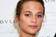 Alicia Vikander Braided Updo