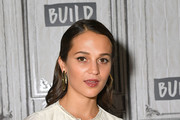Alicia Vikander Wide Band Ring