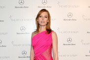 Alicia Witt One Shoulder Dress