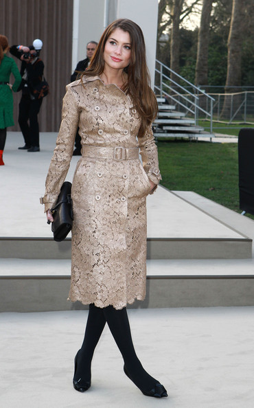Alinne Moraes Tweed Coat