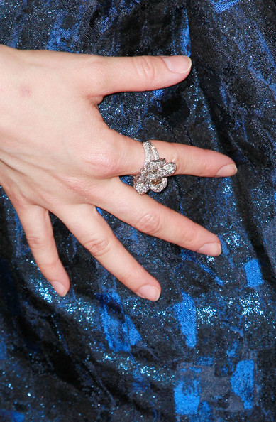 Alison Brie Diamond Ring