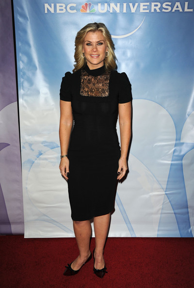 Alison Sweeney Little Black Dress