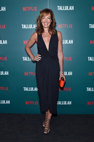 Allison Janney Strappy Sandals