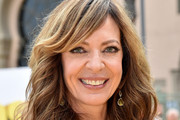 Allison Janney Long Wavy Cut with Bangs