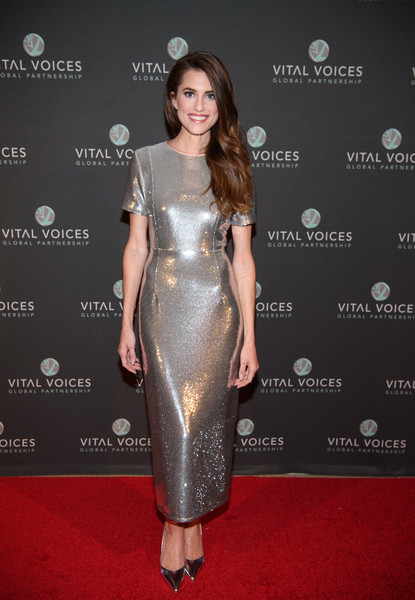 Allison Williams Evening Pumps [red carpet,clothing,dress,carpet,cocktail dress,fashion model,hairstyle,fashion,shoulder,flooring,allison williams,voices,solidarity,voices of solidarity 2016,new york city,iac hq]