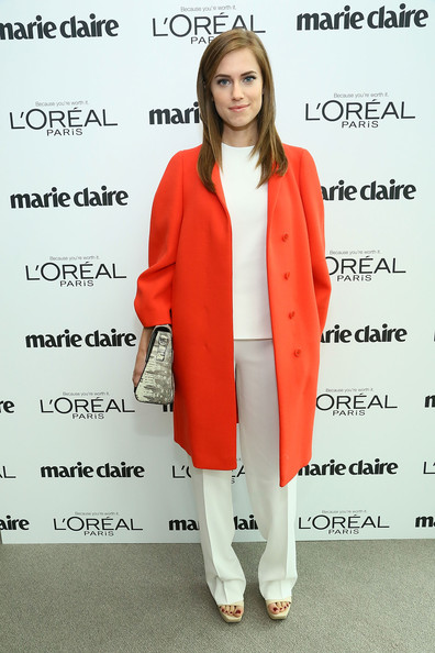 Allison Williams Wool Coat