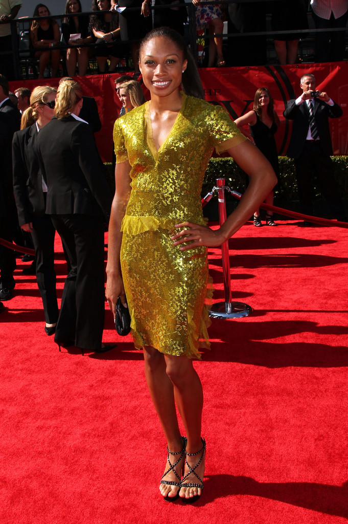 Allyson Felix Cocktail Dress Allyson Felix Looks