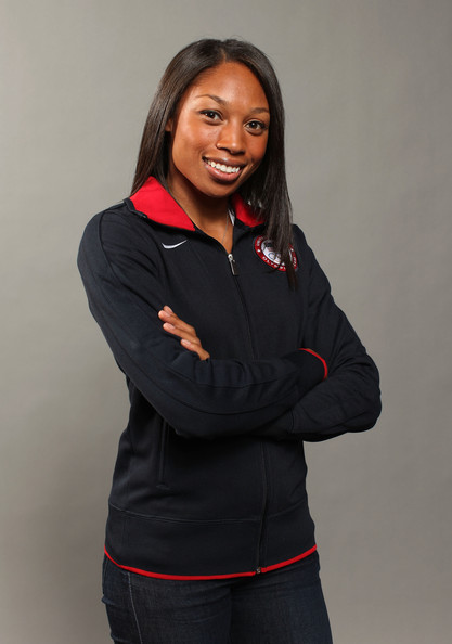 Allyson Felix Long Side Part