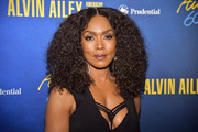 Angela Bassett looked fabulous with her afro at the Alvin Ailey American Dance Theater's 60th anniversary gala.