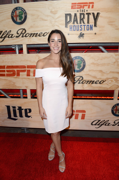 Aly Raisman Strappy Sandals
