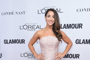 Aly Raisman Strapless Dress