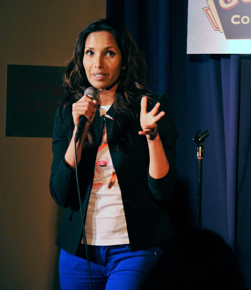 More Pics of Padma Lakshmi Long Wavy Cut (1 of 6) - Padma Lakshmi Lookbook - StyleBistro