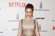 Alyssa Milano Beaded Dress