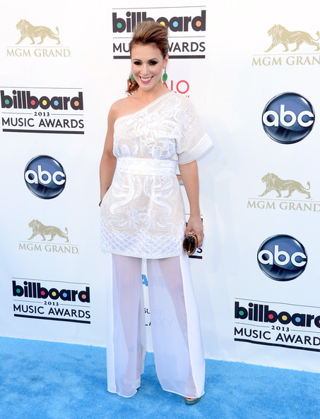 Alyssa Milano Wide Leg Pants