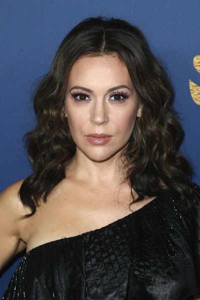 Alyssa Milano Medium Curls