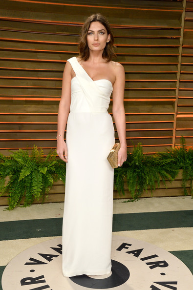 Alyssa Miller One Shoulder Dress