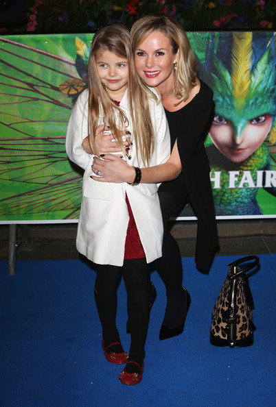 Amanda Holden Oversized Satchel [rise of the guardians,fashion,event,premiere,fun,tights,fashion accessory,flooring,fictional character,carpet,games,arrivals,alexa,amanda holden,uk,london,england,empire leicester square,rise of the guardians - uk,premiere]