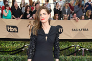 Amanda Peet Satin Clutch