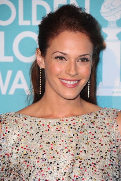 Amanda Righetti Dangling Diamond Earrings