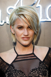 Ashley Roberts wore an edgy and cool layered razor cut to the Amazon Fashion Photography Studio launch.