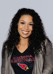 Jordin Sparks looked cute with her tight curls at the premiere of 'All or Nothing.'