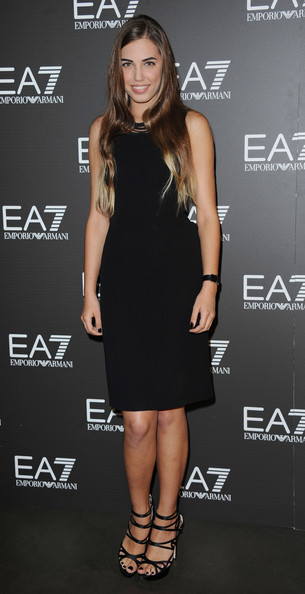 Amber Le Bon Little Black Dress