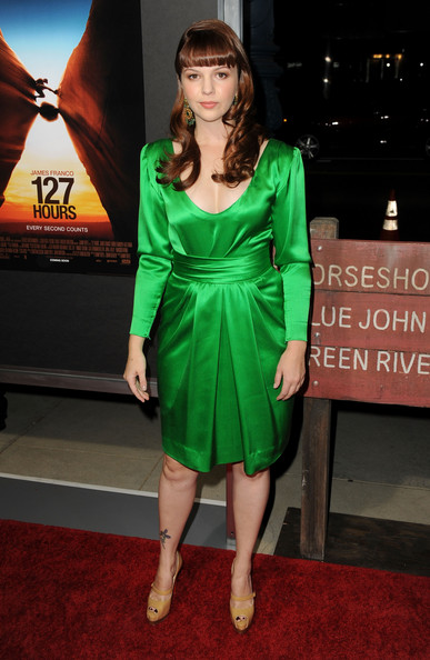 Amber Tamblyn Cocktail Dress
