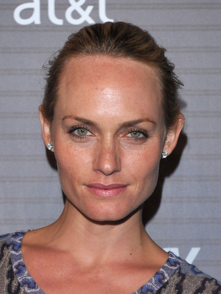 Amber Valletta Diamond Studs [hair,face,eyebrow,hairstyle,chin,lip,forehead,beauty,blond,cheek,arrivals,amber valletta,los angeles,california,launch party,blackberry torch,launch party]