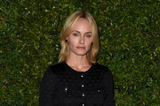 Amber Valletta Metallic Clutch