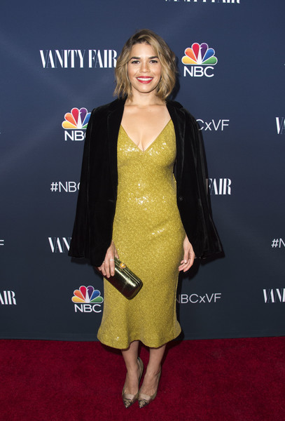 America Ferrera Sequin Dress
