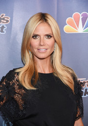 Heidi Klum looked impeccably styled at the 'America's Got Talent' season 10 taping. Not a strand out of place!