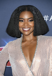 Gabrielle Union rocked a blunt bob at the 'America's Got Talent' season 14 finale.