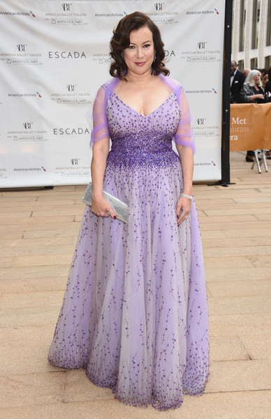 More Pics of Jennifer Tilly Beaded Dress (1 of 6) - Jennifer Tilly Lookbook - StyleBistro