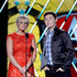 Presenters Lauren Alaina and Scotty McCreery speak onstage during the American Country Awards 2013 at the Mandalay Bay Events Center on December 10, 2013 in Las Vegas, Nevada.