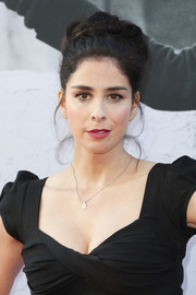Sarah Silverman sported a voluminous, twisted bun at the AFI Life Achievement Award Gala.