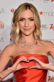 Kristin Cavallari attended the American Heart Association Go Red for Women event wearing her hair in beach-glam waves.