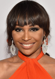 Cynthia Bailey kept it youthful with this loose ponytail with blunt bangs at the American Heart Association Go Red for Women event.