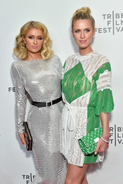 More Pics of Nicky Hilton Rothschild Studded Clutch (4 of 9) - Clutches Lookbook - StyleBistro
