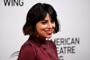 Krysta Rodriguez looked cute with her short cut and bangs at the American Theatre Wing's 2019 Gala.