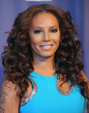 Mel B's wild curls were voluminous, bold, and totally envy-worthy!