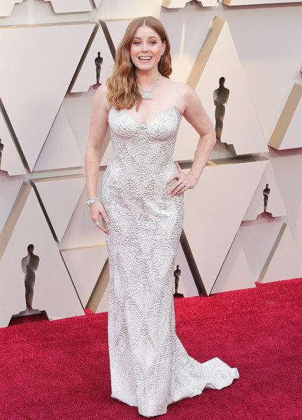 Amy Adams Strapless Dress [red carpet,gown,carpet,dress,clothing,flooring,hair,fashion model,bridal party dress,shoulder,arrivals,amy adams,academy awards,hollywood,highland,california,annual academy awards]