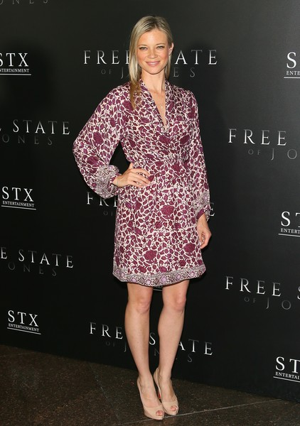 Amy Smart Wrap Dress