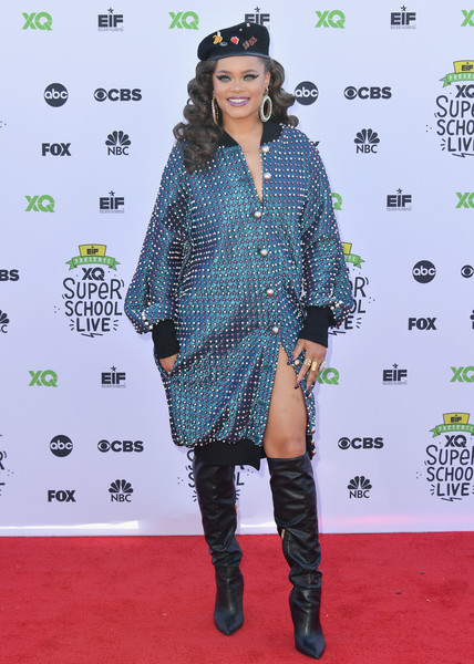 Andra Day Knee High Boots []