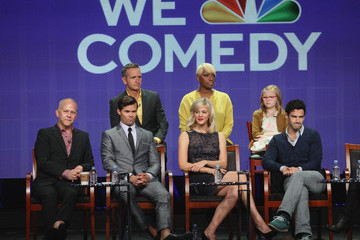Andrew Rannells Bebe Wood 2012 Summer TCA Tour - Day 4