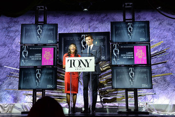 Andrew Rannells Nikki M. James American Theatre Wing's 70th Annual Tony Awards - Nominations