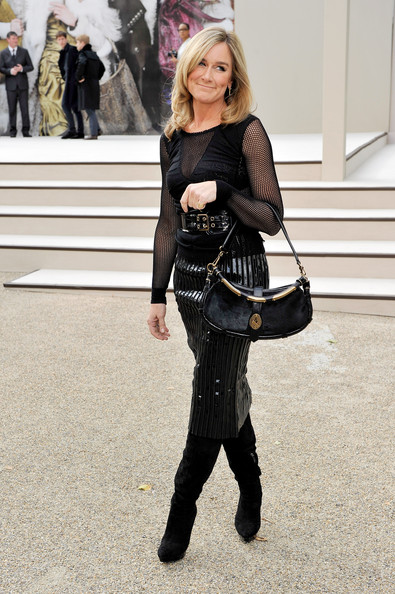 Angela Ahrendts Leather Shoulder Bag
