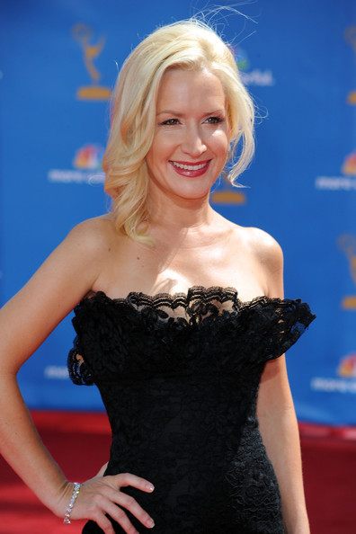 Angela Kinsey Hair